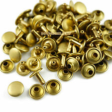 Leather Craft 88mm Antique Brass Rapid Rivets 300-Pack