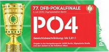 Sammler Ticket Park Bayer 04 Leverkusen - Bayern München DFB-Pokal Finale 2020