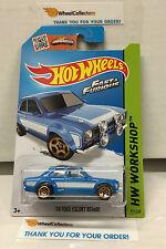 '70 Ford Escort RS1600 #221 * BLUE * Hot Wheels 2015 Fast & Furious * N135