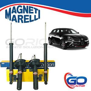 Kit 4 Ammortizzatori Magneti Marelli (Ant. + Post) per ALFA ROMEO GIULIETTA