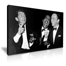 The Rat Pack Movie Canvas Framed Print Art ~ More Size