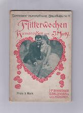 Original etwa 1904 Bd. 10 Schreibers Humoristische Bibliothek 80 Seiten