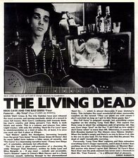 "8/11/86pg26 Album Review & Picture, Nick Cave & The Bad Seeds ""your Funeral My T"