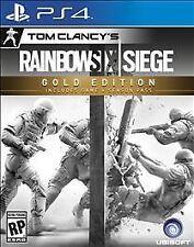 Tom Clancy's Rainbow Six Siege Sony PlayStation 4 PS 4 NEW