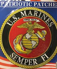 U.S. MARINES SEMPER FI - LARGE  BACK PATCH - NEW - MUST SEE