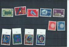 Switzerland stamps. 1970 Publicity, Europa & Pro Patria sets MNH (C977)