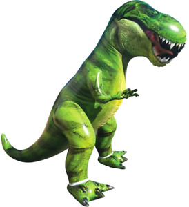 JOYIN Giant T-Rex Dinosaur Inflatable for Pool Party Decorations, Birthday Party