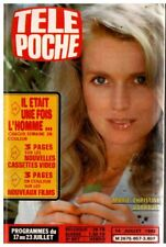 ▬►Télé Poche 857 (1982) MARIE-CHRISTINE BARRAULT_MARIE-JOSÉ NAT_ZARAÏ_DALIDA