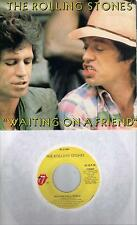 THE ROLLING STONES  Waiting On A Friend / Little T & A  45 with PicSleeve