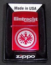 Zippo Eintracht Frankfurt Candy Apple Red