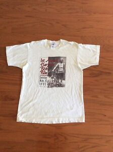 Vtg 1st Annual Harpeth River Ride Sunday May 25 1991 T shirt Size L 100% Cotton