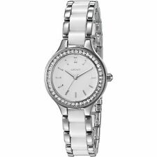 DKNY LADIES CHAMBERS NY2494 CERAMIC STAINLESS STEEL WATCH.