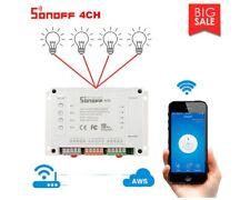Sonoff 4CH Smart Switch Relè WiFi 230V 10A controllo 4 dispositivi elettrici