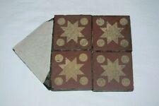 Antique Encaustic Tile Section 5 Geometric Unglazed Tiles Victorian