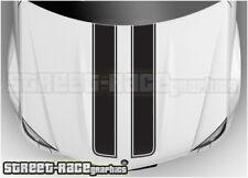 BSU002 Ford bonnet racing stripes graphics stickers Fiesta Ka Focus Mondeo ST RS