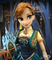 "2015 LIMITED EDITION Frozen Fever Princess Anna 17"" Doll LE 5000 NIB NWT"