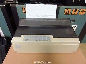 EPSON LQ-300+ P172A LQ300+ Dot Matrix Drucker 24 PIN Printer LPT - BAD PRINTING