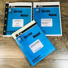 International 500c 500 C Crawler Tractor Service Manual Set Repair Shop Book Ih