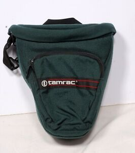 Tamrac 515 Compact DSLR Pack Holster Camera Bag w/ Strap USA Made Green Used