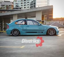 Bmw E46 Compact Diveriks Wide body kit (wide arches) TÜV material report