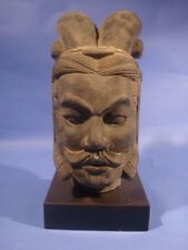 Zen, Terrakotta krieger  General,Tonsoldaten, Kopf
