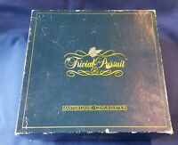 TRIVIAL PURSUIT MASTER GAME - GENUS EDITION - COMPLETE c1984
