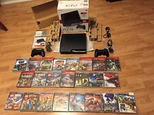 Playststion 3 Ps3 500Gb Console Cib 2 Controllers 23 Games 15 Sealed New Nib