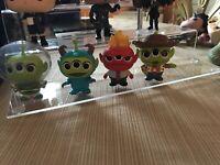 Funko ALIEN REMIX Mystery Mini Set of 4 PIXAR - Woody, Buzz, Sully Fire Head Tot