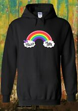 Thank you NHS Rainbow Hoodie Heroes Stay Safe Men Women Unisex Top 2521