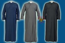 Orthodox Church Priests Garment Anteri Classic Line Cassock Soutane Talar Cleric