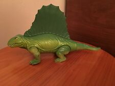 Vintage 1987 Playskool Definitely Dinosaurs Green Dinosaur Lizard Figure