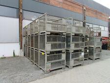 DB Gitterbox 1240x835x970cm Eurobox Eurogitterbox Gitterboxpalette Lagerbox
