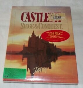 Castles II: Siege and Conquest for MS-DOS Vintage! 1992 New!