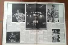 ROLLING STONES 'rolling in the USA' 1975  ARTICLE / clipping