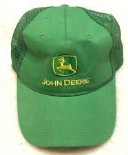John Deere Green and Yellow Trucker Snapback Hat