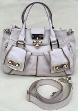 fba7890501f9 Auth CELINE Gorgeous Beige Crackled Leather Gold-Tone Handbag Crossbody  Rare!