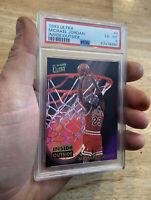 Michael Jordan PSA 6 Fleer Ultra Man Cave Collector Card INVEST Inside Outside