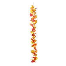Artificial Silk Autumn Leaf Garland 180cm/6ft
