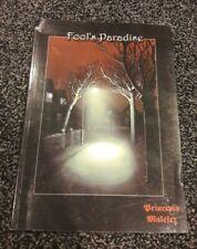 Fools Paradise for Principia Malefex RPG Supplement book