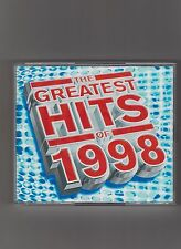 THE GREATEST HITS OF 1998 = {2xCDs - 40 TRACKS} = ROBBIE WILLIAMS E17 THE CORRS