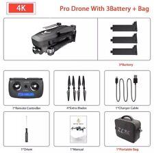 •NEU Drohne mit 4K und Ultra HD und 2 Kameras - Quadcopter mit GPS und 3 Akkus•