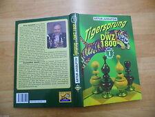 Tigersprung auf DWZ 1800 Band 1 von GM Artur Jussupow 1a Lehrbuchserie