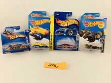Lot of 4 Hotwheels Z-Rod,Fish'D&Chip†™D,Fast Fortress X2 #296
