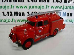 CP27b POMPIER 1/43 altaya IXO Camionciterne lourd spécial Drouville Citroën 46