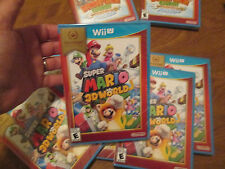 Super Mario 3D World Nintendo Wii U NEW FACTORY SEALED NINTENDO SELECTS