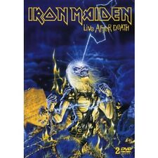 IRON MAIDEN LIVE AFTER DEATH 1984 LIVE+DOCUMENTARY DVD NEW