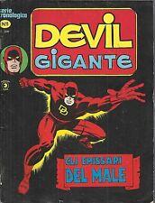 DEVIL GIGANTE n° 11 Ed. CORNO