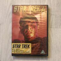 Star Trek The Original Series DVD TOS 3 Episodes 7,8,9 Brand Mew And Sealed