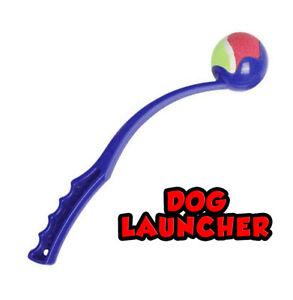 Outdoor Garden Ball Thrower Launcher Dog Toy Walking Fetch Play Dog Ball Thrower