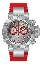 New Mens Invicta 19893 Subaqua Noma Ocean Quest Swiss Chronograph Red Watch